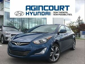 2014 Hyundai Elantra Limited Tech/NAVI/LEATHER/OFF LEASE