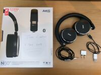 AKG N60 NC Wireless Headphones - Mint Condition - Noise Cancelling