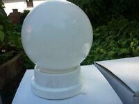 Crystal ball lamp shade, 'massive' 'sonia'