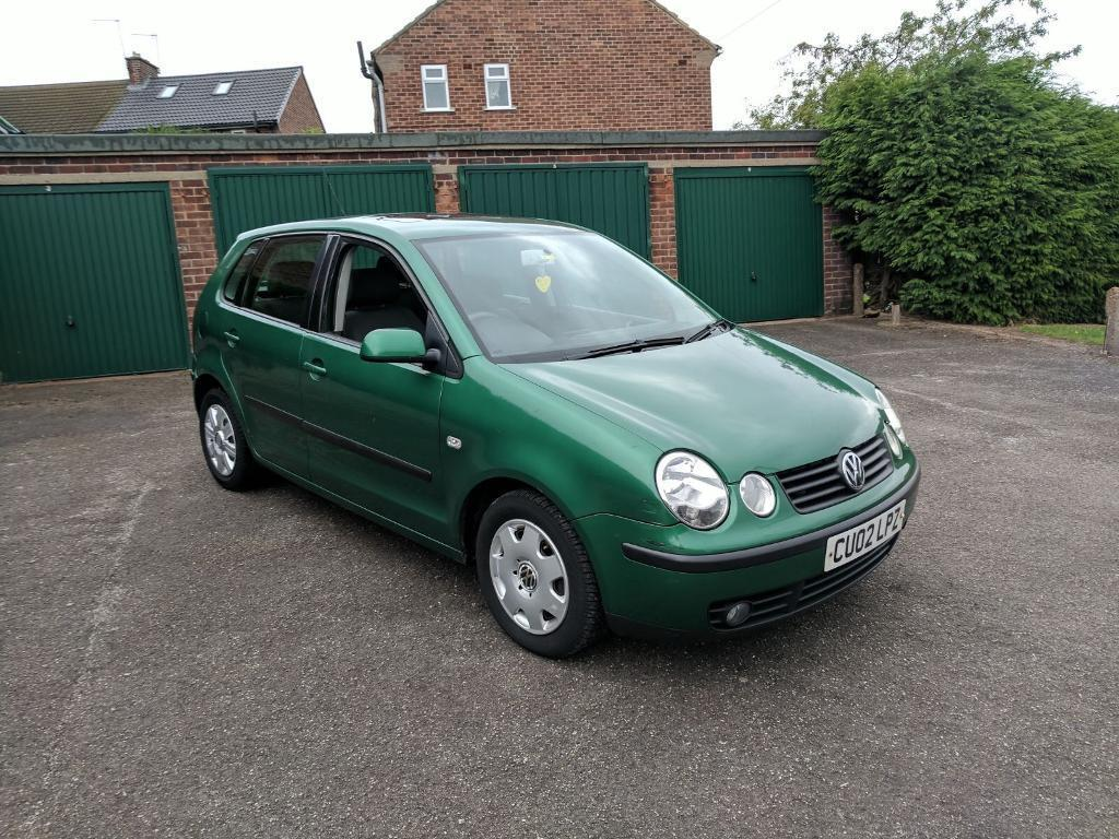vw polo 1 4 tdi diesel 2002 mot january 2018 sunroof bargain in whiston south. Black Bedroom Furniture Sets. Home Design Ideas