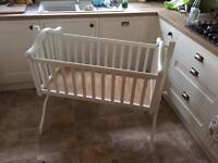 Mamas and Papas swinging crib cradle