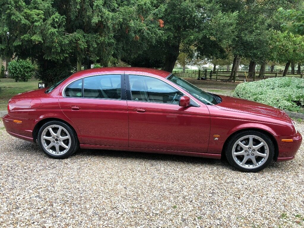 2002 Jaguar S-Type 3.0 V6 Sport Manual Red Metallic 83305 miles S Type   in Louth, Lincolnshire ...