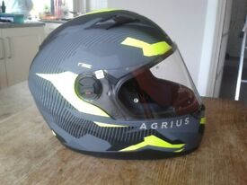 Crash Helmet (small) with Clear & Tinted Visors.