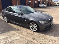 BMW 3 SERIES 3.0 325D M SPORTS 4 dr 2006 56 PLATE FULL SERVICES HISTORY 1 OWNER FROM NEW.