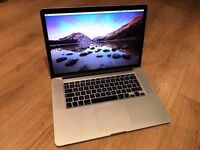 MacBook Pro 15inch Laptop, Quad Core i7, 512Gb SSD, Retina Display, ME294LL/A, Apple