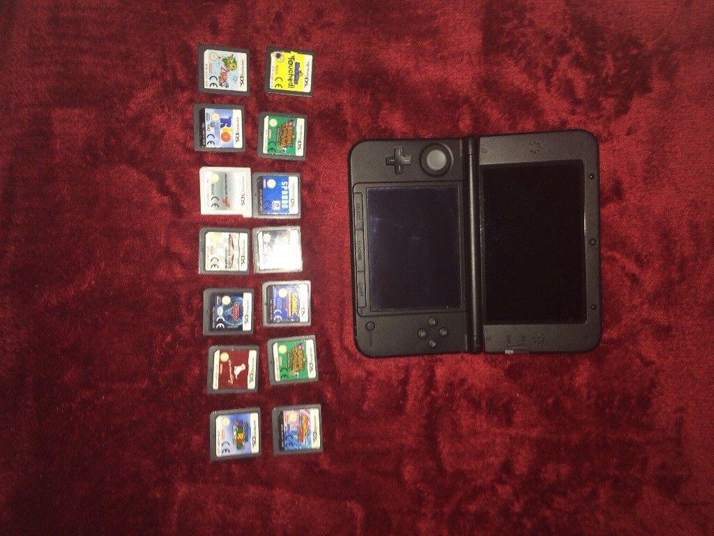 Nintendo 3DS XL including 12 games