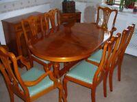 Yew furniture