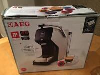 New AEG mio espresso machine - Cream