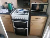 Gas cooker as new
