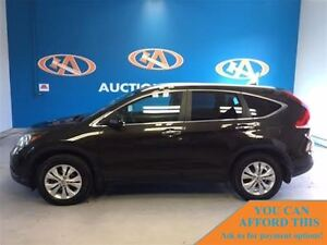 2014 Honda CR-V AWD! LEATHER! NAVI! SUNROOF!