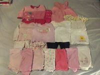 Girls Baby Clothes Bundle (3-6 Months)