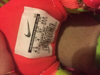 Nike Free trainers - women's coral size 4