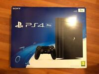 Playstation 4 Pro + 2 controller + 9 games