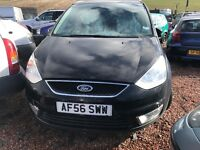 FOR SALE FORD GALAXY 1.8 CDTI TURBO DIESEL SEVEN 7 SEATER NON RUNNER SPARE OR REPAIR