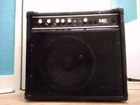 Marshall MB 30, 30W, 1x10, 2 channel Bass Combo Amp - Minor cosmetic damage and missing 2 knobs