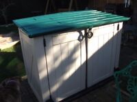 Keter Plastic Store It Out xl Garden Storage Box - shed