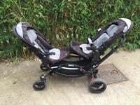 Obaby ABC Zoom double buggy pushchair