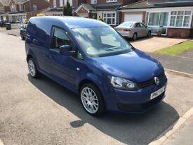2012 Volkswagen Caddy Blue 1.6 TDI Low Miles (NO VAT)