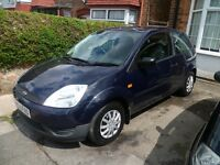 FIESTA ZETEC 1.2L 16v, 2005 REG(NEW SHAPE) WITH A LONG MOT & LOW MILEAGE, NEW CAMBELT & VERY TIDY