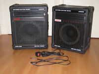 WEM 100 Watt amplifier and matching speaker cab