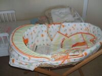 Moses baby basket complete with stand £20