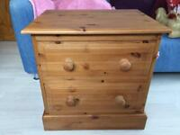 "Small Pine Chest of Drawers 24"" wide, 18"" deep & 24"" high"