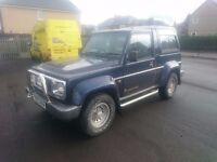 Daihatsu FOURTRAK with 10mth MOT - Will accept offers