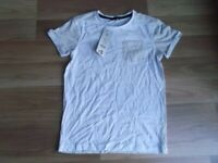 ***NEW WITH TAGS*** BOYS GEORGE SHORT SLEEVED WHITE TOP 10-11 YEARS