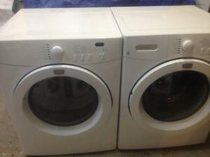 12- FRIGIDAIRE AFFINITY Laveuse Secheuse Frontales Washer Dryer