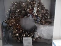 Brand new still boxed christmas wreath from House of Fraser