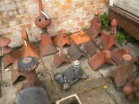 Chimney pots Reclaimed Chimney pots Garden Features finials cowlins Large selection