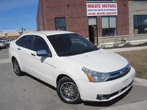 Sharp, Clean & Sporty 2011 Ford Focus SE, Sold Fully Certified
