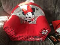 Minnie Mouse toddler armchair