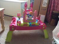 Mega Bloks Li Princess Activity Table