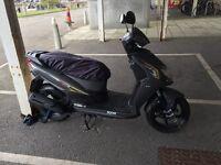Sym Jet 4 125 scooter ( 2016) matte grey