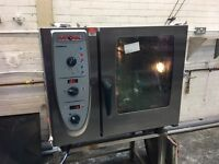 Rational 6 Grid Natural Gas Combi Master Oven