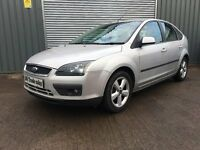 2006 FORD FOCUS 1.8 ZETEC 5dr *** LONG MOT *** similar to golf megane astra mondeo c3 corsa