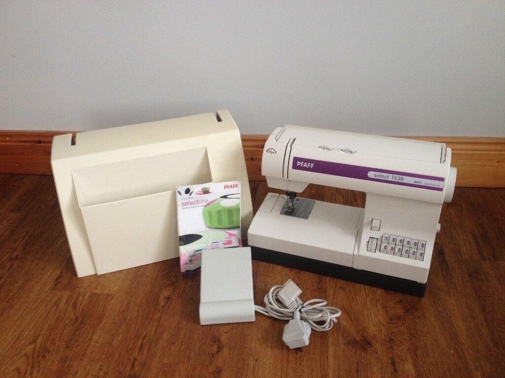 Sewing Machine PFAFF Select 1538