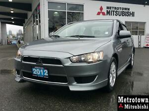 2012 Mitsubishi Lancer SE AWC; Local & No accidents!