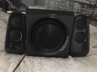 Pc speakers and sub