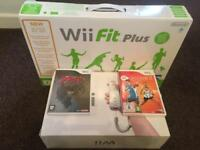 Nintendo Wii with Zelda , Wii Fit and EA Active