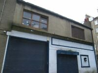 City Centre - Available store space for redevelopment