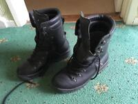 Military Gortex Boots Size 9