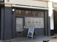 Great shop in Kings cross to rent