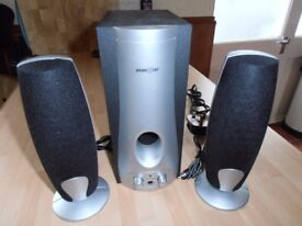 PLAY-ON 2.1 - P B S - 480 speaker system 10 W sub woofer (rms)