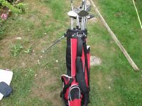 DUNLOP BAG AND COVER PLUS 17 CLUBS