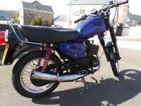 MZ ETZ 125cc 1991 BLUE