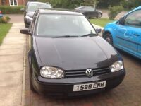 VW Golf, GTI, 1.8, non-turbo. R32 alloy wheels. Sad to sell, but baby on way.