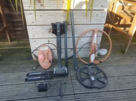 Selling my E-trac Metal Detector plus two extra coils