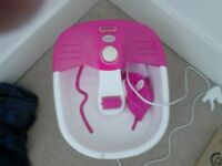 Scholl foot spa, good condition.